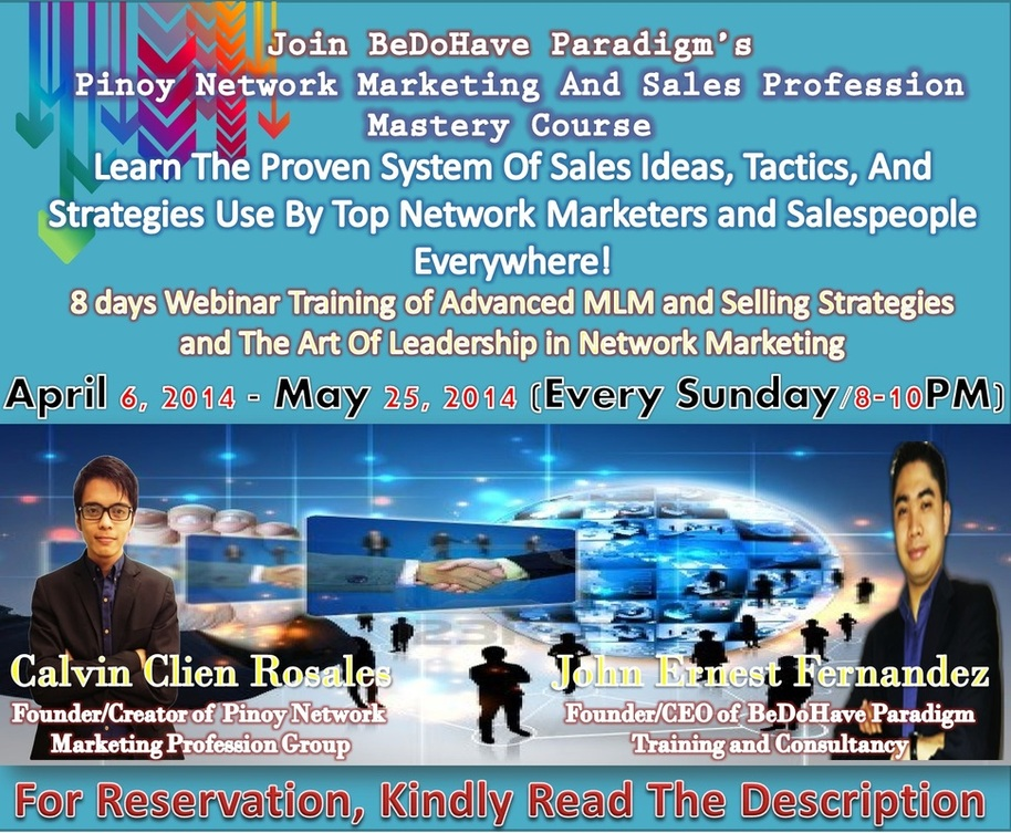 Mlm Training Course Pinoy Network Marketing Profession Pinoy channel main purpose is to provide entertainment to those working nationally. mlm training course pinoy network marketing profession